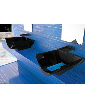 Lavabi sospesi Glass Design Privileged Paths of Water lavabo sospeso CALLA