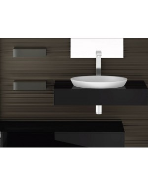 Lavabi a incasso Glass Design Da Vinci In Out lavabo a semi incasso Circus43 FL CIRCUS43FLPO01
