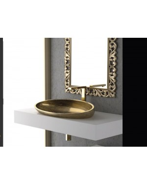 Lavabi a incasso Glass Design Da Vinci In Out lavabo a semi incasso Kool XL FL KOOLXLFLPO01