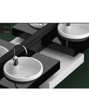 Lavabi a incasso Glass Design Da Vinci In Out lavabo a semi incasso Naxos FL NAXOSFLPO01